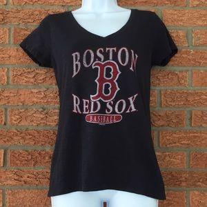455a055b4 DKNY Women's XXL Summer Top Boston Red Sox Ladies Classic Tee ...